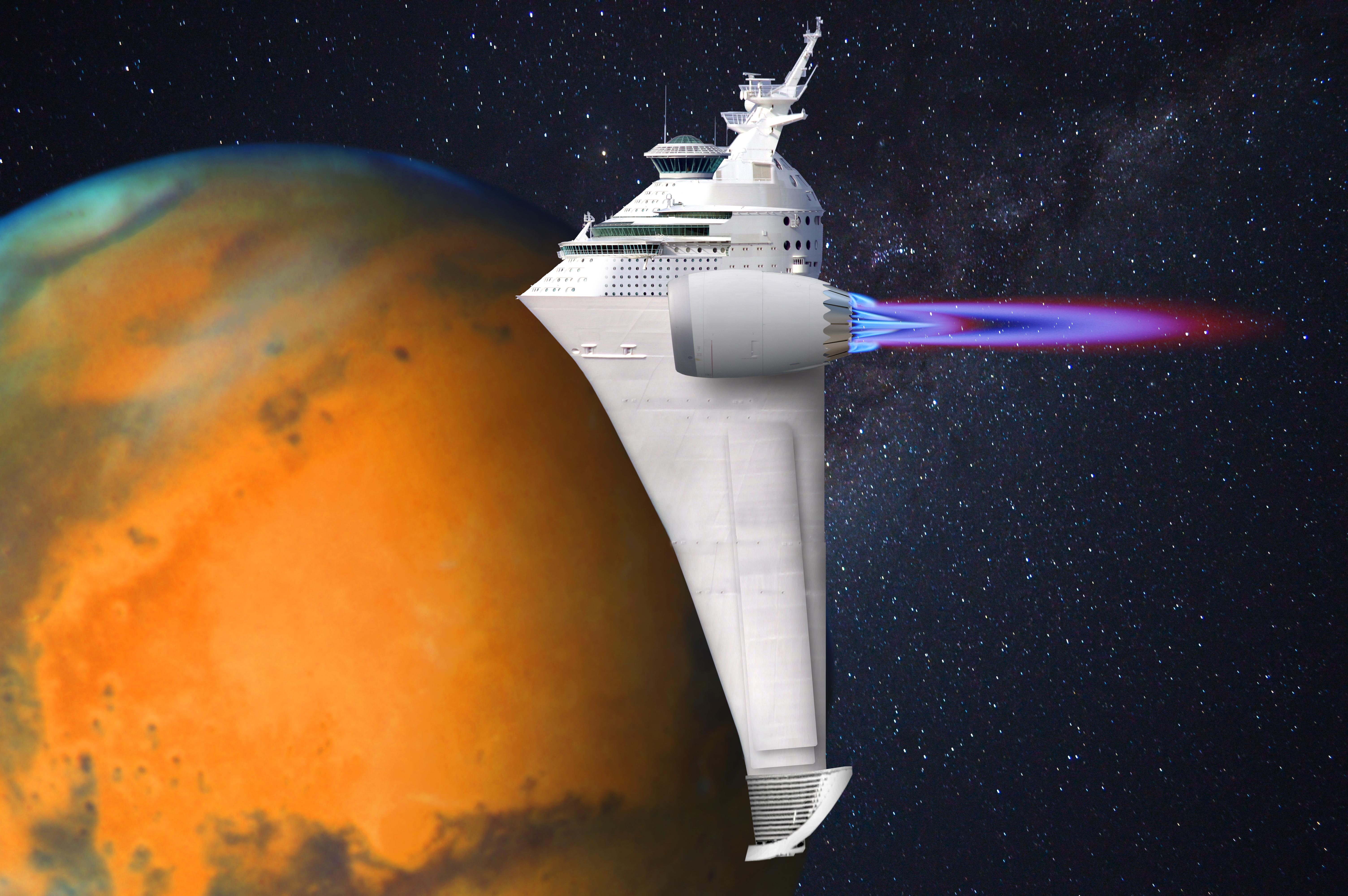 Cruise to Mars