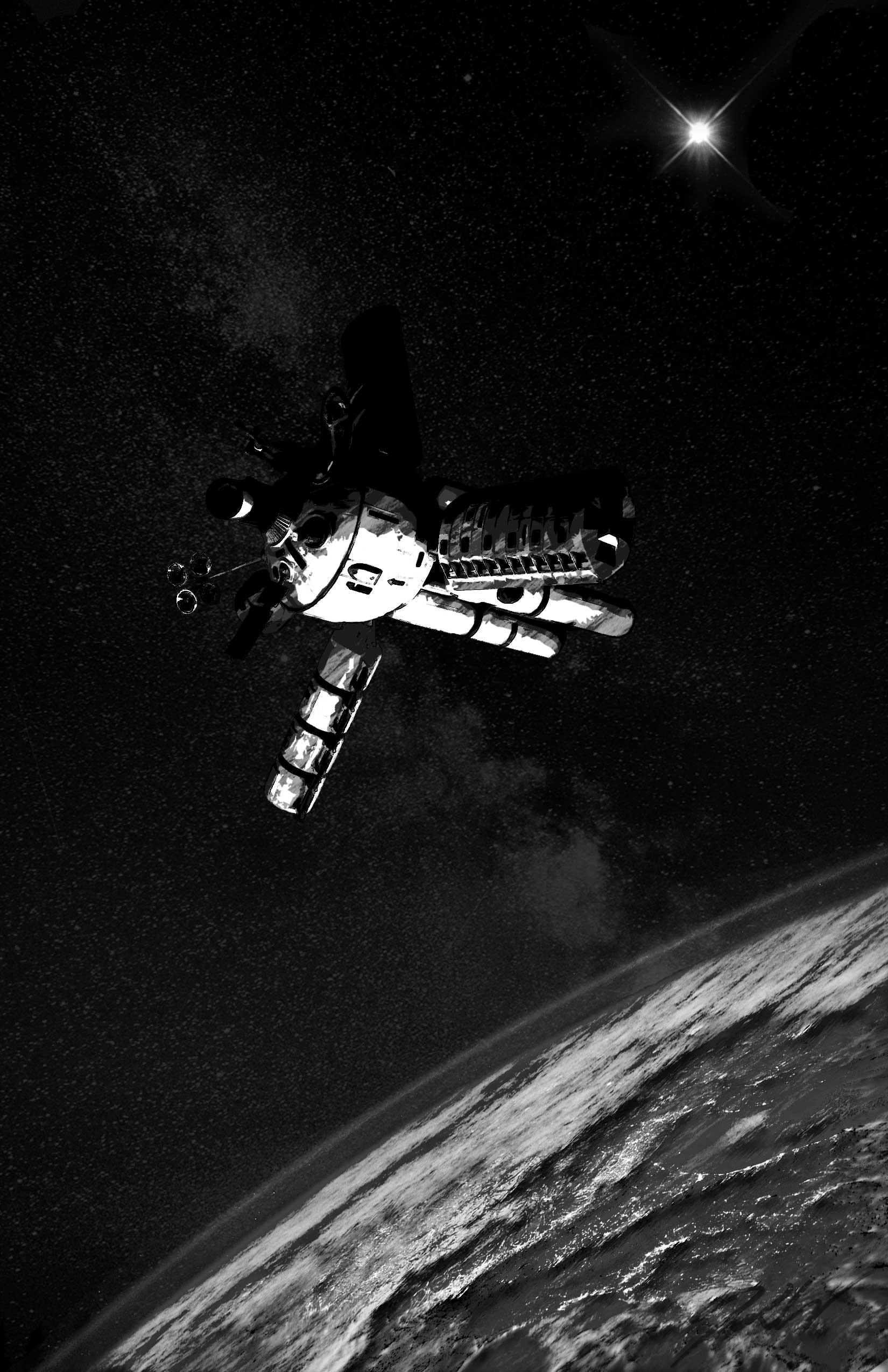Space Hab 14 – Greyscale
